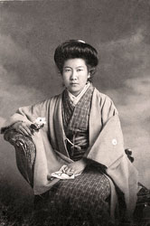 70201-0009 - Woman in Kimono