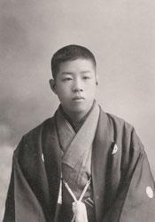 70201-0010 - Boy in Kimono