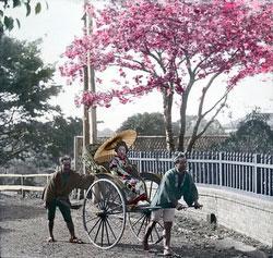 100910-0007 - Woman in Rickshaw