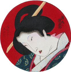 70206-0050 - Mokuhan of Woman