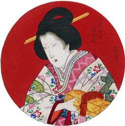 70206-0051 - Mokuhan of Woman