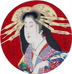 70206-0053 - Mokuhan of Woman