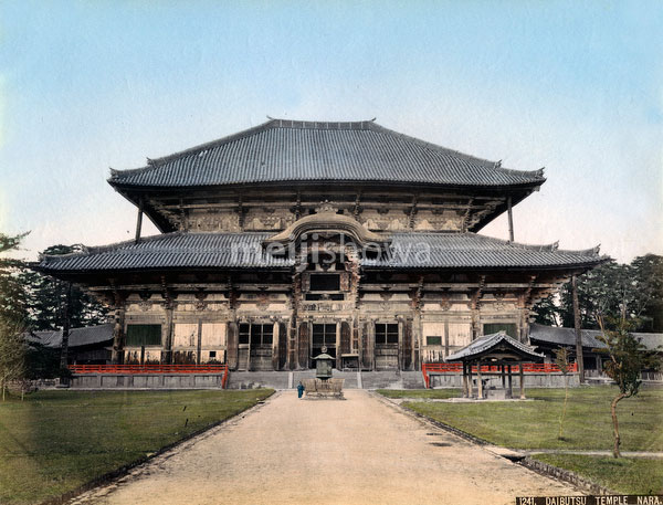 80302-0027-PP - Todaiji Great Buddha Hall