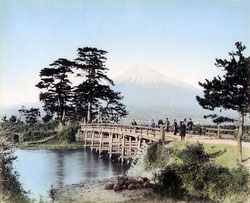 80302-0058-PP - Kawaibashi Bridge, Tokaido