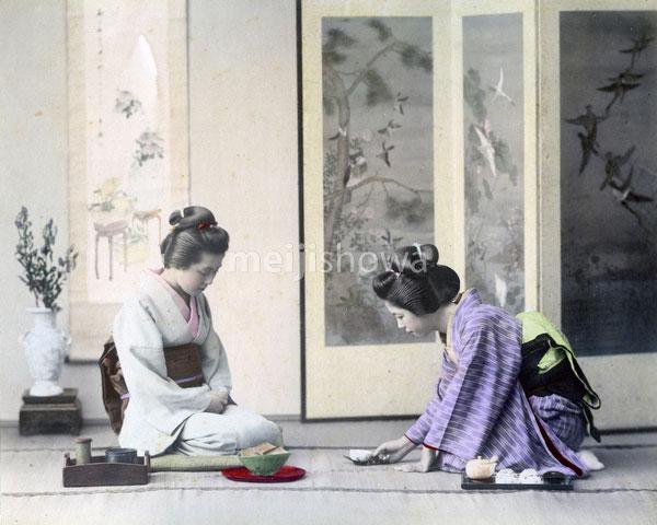 80302-0063-PP - Women in Kimono