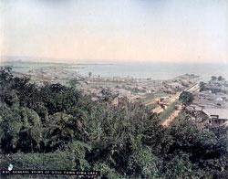 80302-0096-PP - Otsu and Lake Biwa