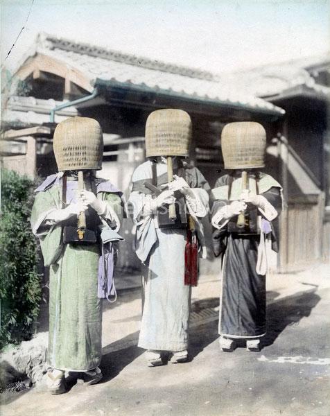 80302-0100-PP - Komuso Monks