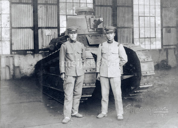 101005-0002 - Soldiers and Tank
