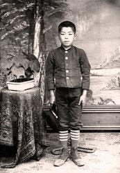 70203-0009 - Boy in School Uniform