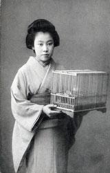 70206-0007 -  Woman in Kimono