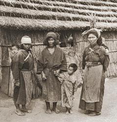 111003-0018 - Ainu Women and Children