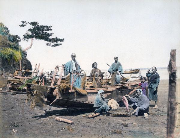 111003-0036 - Fishermen and Boat