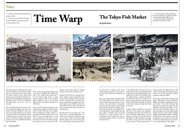 Tokyo Journal Time Warp