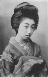 70206-0040 - Woman in Kimono