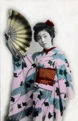 70209-0001 - Woman in Kimono