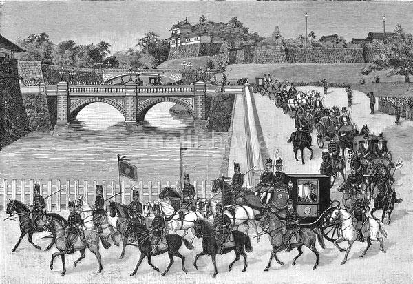 120824-0009 - Emperor Meiji Travelling
