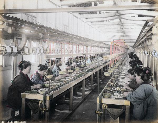 130129-0053 - Women Reeling Silk