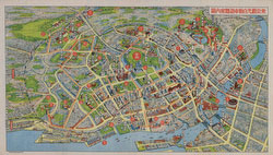 130130-0001 - Map of Tokyo 1930s