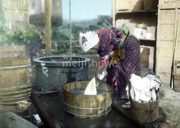 130602-0003 - Woman Washing