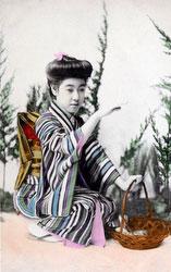 70215-0016 - Woman in Kimono
