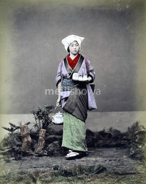 80303-0006-PP - Woman Serving Tea