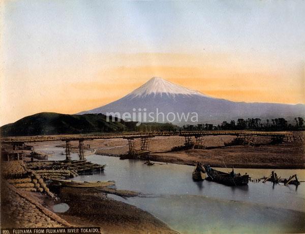 80303-0068-PP - Mount Fuji and Fujikawa River