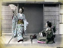 80303-0095-PP - Dancing Geisha