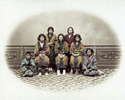 120207-0016-PP - Ainu Women and Children