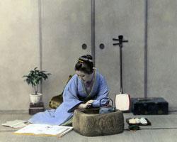120207-0164-PP - Woman in Kimono