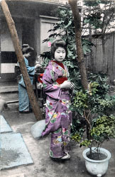 70216-0029 - Women in Kimono