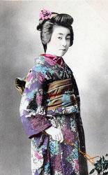 70216-0035 - Woman in Kimono