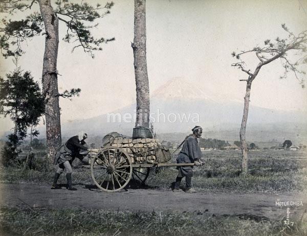 140916-0174-PP - Cart and Mt. Fuji