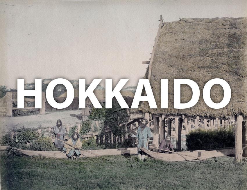 Vintage images of Hokkaido