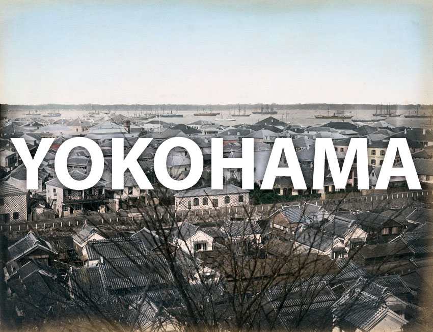 Vintage images of Yokohama