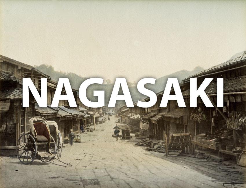 Vintage images of Nagasaki