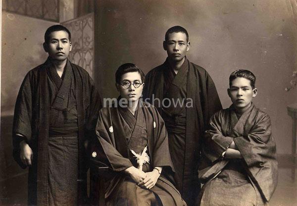 40512-0011 - Young Men in Kimono
