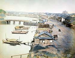 190101-0001-PP -  Nihonbashi from Yaesu, Tokyo 1870s