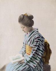 140302-0038 -  Woman in Kimono