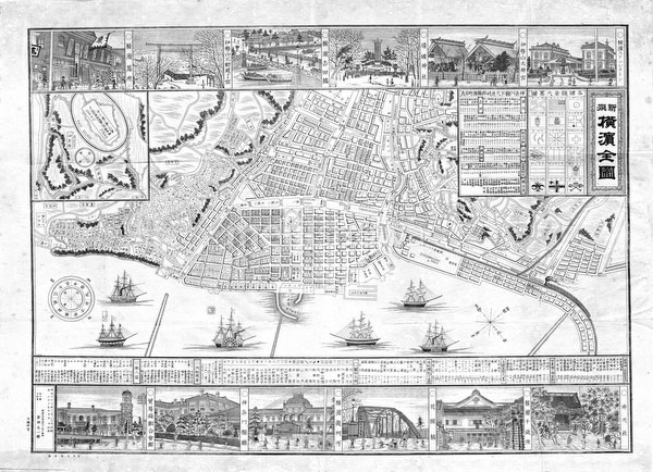 140303-0040 - Map of Yokohama 1893