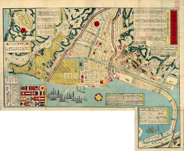 140303-0042 - Map of Yokohama 1878