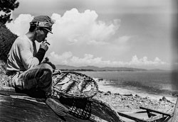 160202-0040 - Smoking Japanese Fisherman
