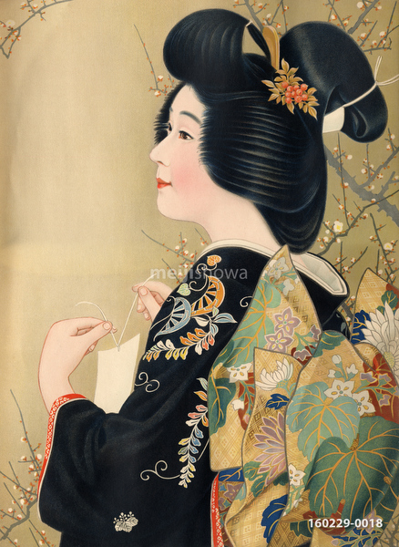 160229-0018 - Woman in Kimono
