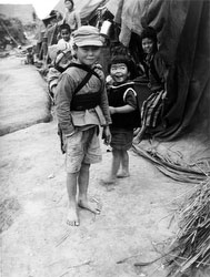 160304-0039 - Okinawan Boy Carrying Sister