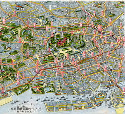 160309-0022 - Map of Tokyo 1920s