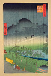 131004-0119-OS - Rain at Tameike Pond