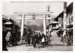 160902-0014 - Ikuta Jinja Torii