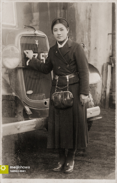 160902-0041 - Female Bus Conductor