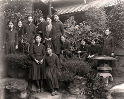 70302-0009 - Students in Uniform