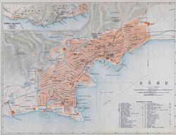 70305-0010 - Map of Kobe 1914
