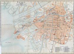 70305-0012 - Map of Osaka 1914